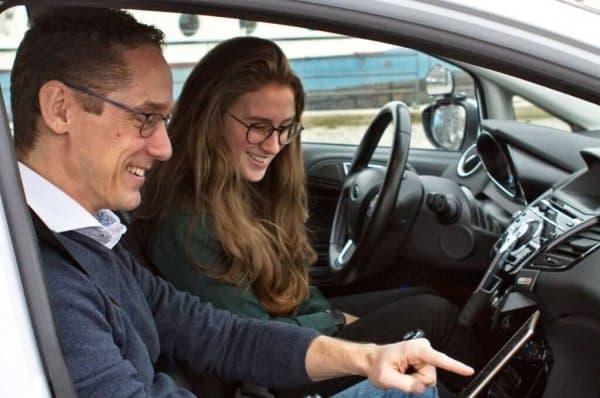 Video analyse van je rit tijdens de rijlessen